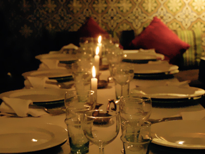 Restaurant - Riad Vert 3